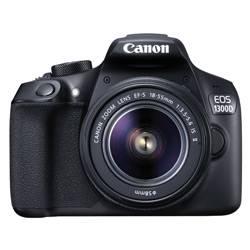 Canon EOS 1300D 18MP DSLR Camera (Black)