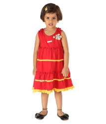 Lil Orchids Girls Casual Dress