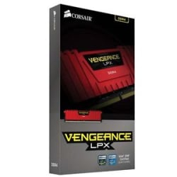 Details about  Corsair Vengeance® LPX 8GB DDR4 DRAM 2400MHz Memory Kit-Red(CMK8GX4M1A2400C16R)