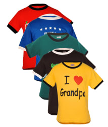 Goodway Multicolour Cotton T Shirt For Boys Pack Of 5
