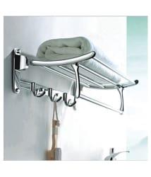 Handy bathroom accessories folding towel rack Stainless Steel Towel Rack