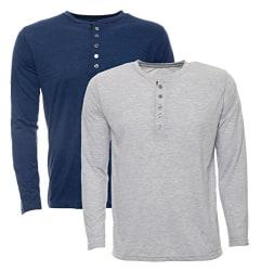 Aarbee Men s Cotton T-Shirt - Combo of 2