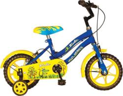 Hero Frolic 12 T Single Speed Recreation Cycle  (Blue, Yellow)