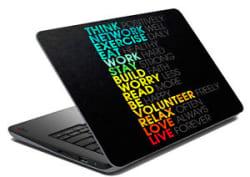 meSleep Motivational Laptop Decal - Laptop Skin- Size-14.1 to 15.6 inchess