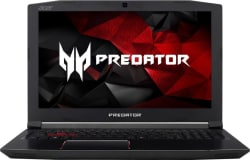 Acer Predator Helios 300 Core i7 7th Gen - (8 GB/1 TB HDD/128 GB SSD/Windows 10 Home/4 GB Graphics) G3-572 Gaming Laptop (15.6 inch, Black, 2.7 kg)