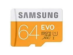 Details about Samsung 64GB EVO Micro SD Card Class 10 Memory Card Trasfer speed up to 100mb/s