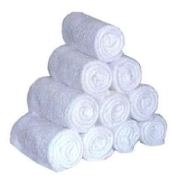 Details about White Face Towel - Pack Of 12