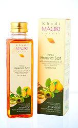KHADI Heena Shampoo- 250 ml - Oily Hair Treatment - Enriched with Lemon, Tulsi & Amla
