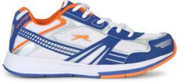 Slazenger Frost Running Shoes For Men (White, Blue)