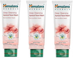 Himalaya Deep Cleansing Apricot (Pack of 3) Face Wash  (300 ml)