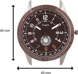 Timex Analog Men Watch - TI000U90300, brown, black