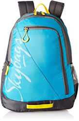 Skybags Polyester Blue Casual Backpack (BPGRO5ELBU)