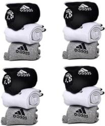 Adidas Men & Women Ankle Length Socks  (Pack of 12)