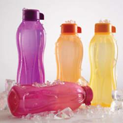 Details about TUPPERWARE WATER BOTTLE AQUASAFE 1 LITRE (1000ml) Bottle - 1 Ltr -(4Pc)