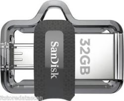 Details about SANDISK 32 GB ULTRA DUAL USB 3.0 OTG PEN DRIVE (SDDD3-032G-I35)GST PAID