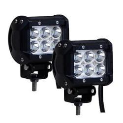 Details about  AllExtreme 6 LED Fog Light / Work Light Bar Spot Beam Off Road Driving Lamp.