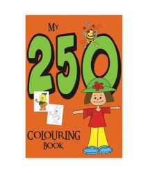 My 250 Colouring Book ( Green )