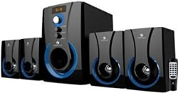 Zebronics 4.1 Multimedia SW3490 RUCF Wired Home Audio Speaker(Black, 4.1 Channel
