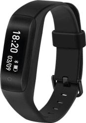 Lenovo HW01 Smart Band with Heart Rate Monitor (Black Strap Regular)