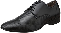 Fortune (from Liberty) Men s ARN-4 Black Formal Shoes - 10 UK/India (45 EU)