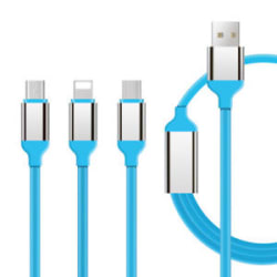 Details about 3 in1 Multi Micro USB for Type-C, Android, And IOS
