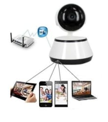 Details about 360 Eye Degree Panoramic WIFI Camera For Home Office Security