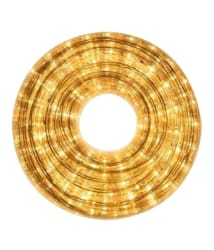 Galaxy Lighting Yellow Water Proof 5 Mtr LED Rope Light with Adapter