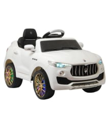 Happy Kids officialy licensed Maserati Levante with remote control doors, media player and swing function. (Watch Youtube Video)