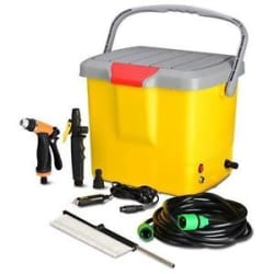 Details about Portable Mini High pressure car washing machine car washer kit car Jet Spray