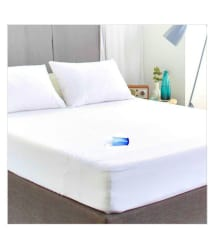 Sleep Matic White Rubber Waterproof Sheet ( 190 cm × 180 cm - 1 pcs )