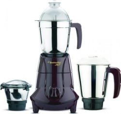 Butterfly Jet 3J MG 750 W Mixer Grinder (Red, 3 Jars)