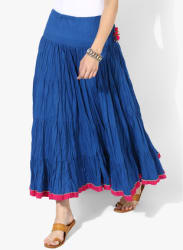 Tier Skirt With Tassels