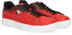 Puma Basket City DP Sneakers For Men (Red)