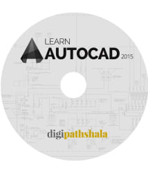 Learn AutoCAD 2015 DVD Video Lectures (11 hours of Content and 110 Lectures) by Digi Pathshala