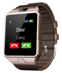JM Brown Smart Watch with Call Function