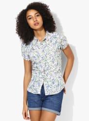 Multicoloured Printed Shirt