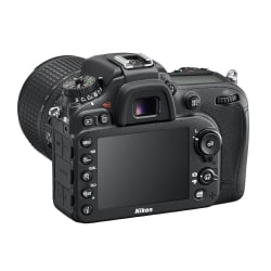 Nikon D7200 DSLR (with AF-S 18-105mm VR Kit Lens) (Black)
