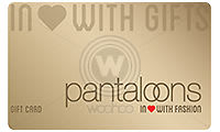Details about  Pantaloons E-Gift Card Worth Rs 1000 - Digital Delivery Only.