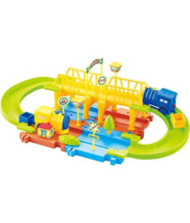 Webby Mimi Train Set with Upper and Lower Level and Bridge