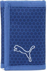 Puma Men Blue Fabric Wallet (3 Card Slots)