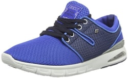 British Knights Men s Tempo Royal Blue and Navy Mesh Sneakers - 11 UK