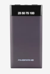 Ambrane Plush PP10 10000 mAh Power Bank (Grey)
