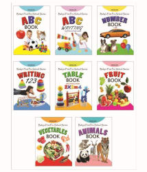 Baby First Preschool (8 Titles) Pack Paperback
