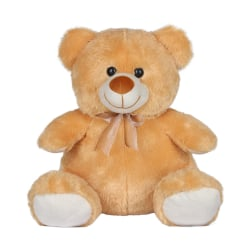 Ultra Soft Toy Brownie Teddy Bear 15 Inches (1257UST), brown