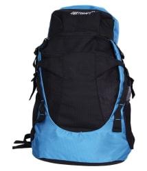 Justcraft 45-60 Litre Black Hiking Bag
