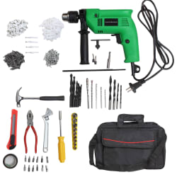 Truestar 13mm 650W Impact Drill Machine Kit with Reversible Function & Variable Speed + 250 Accessories