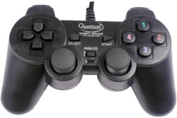 Quantum QHM 7468 Gamepad Gamepad (Black, For PC)
