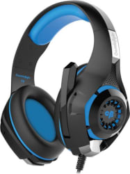 Kotion Each Cosmic Byte GS410 Headset with Mic (Black/Blue, Over the Ear)