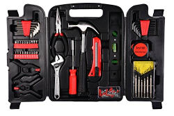 Visko Household Hand Tool Set (132 Pieces)