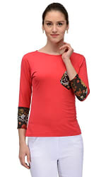 Trend 18 Women s Trend 18 Red single Pocket Top (10004663, red, Small)